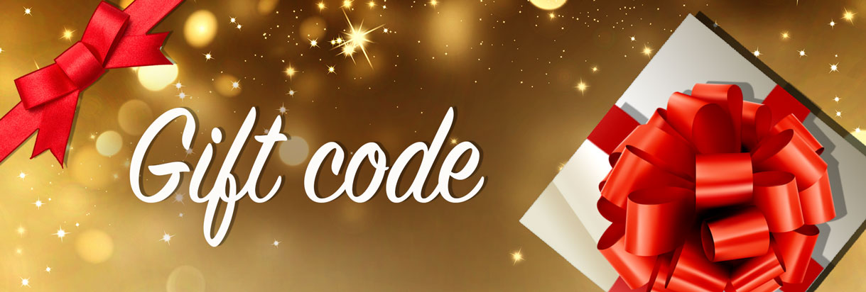 redeem lottery gift code